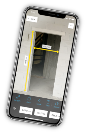 Bosch MeasureOn App
