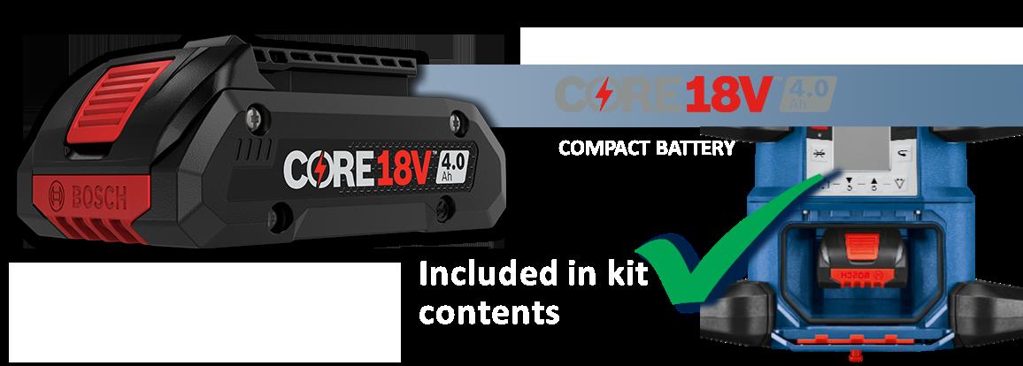 Core18V 4.0ah