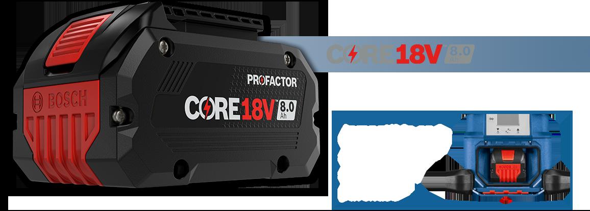 Core18V 8-1.0ah
